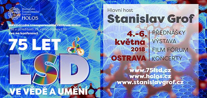 75 let LSD ve vědě a umění (4. - 6. května 2018 Landek - Ostrava)