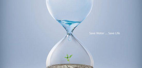 Šetři vodu, šetří přírodu.