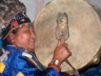 Sibiřská šamanka Anisja Monguš