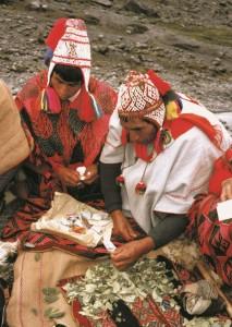 Zdejší indiáni sou překvapivě klidní a tolerantní, zajímají se především o brambory na svých políčkách a o lamy, které chovají.