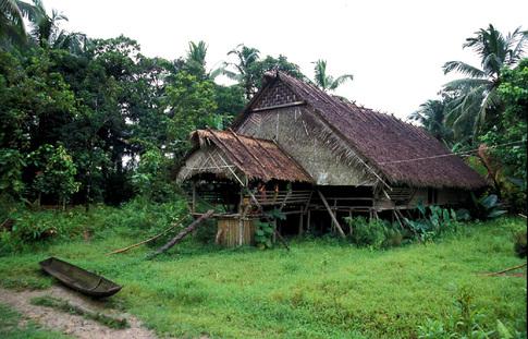 Tradiční dům uma