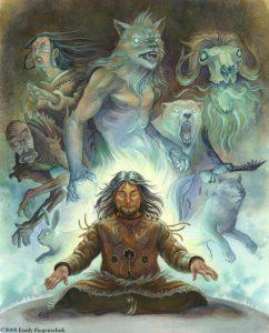 Duchovní spojenci šamana