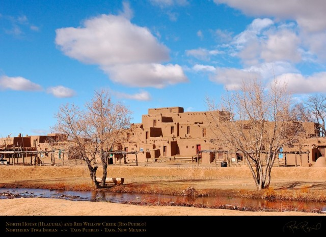 Taos Pueblo North House, © 2005 -- Ron Reznick http://www.digital-images.net