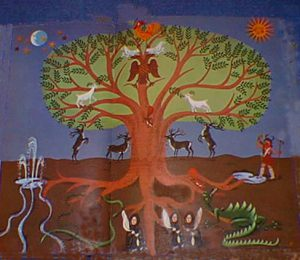 šamanský strom života