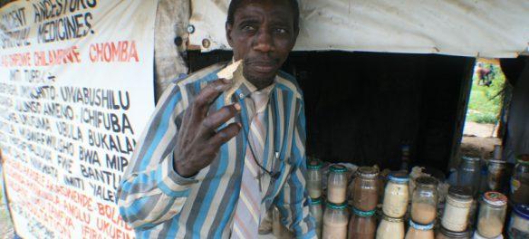 Šamani v Africe