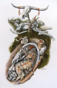 Hrob šamana