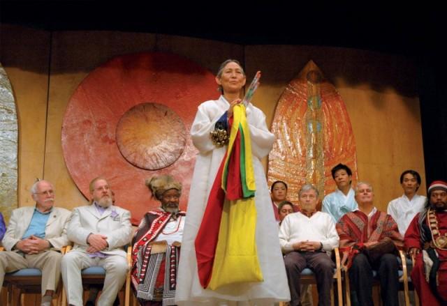 Cestující šamanka -  Kim Čun II