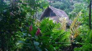 Equador, domorodá vesnice