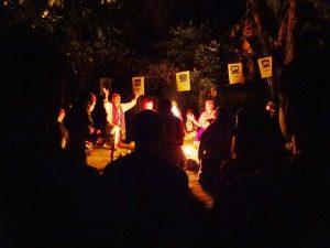 Guatemalští šamaní 2012 - zahájení ohňů