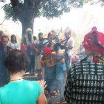 Guatemalští šamaní 2012 - společný zpěv