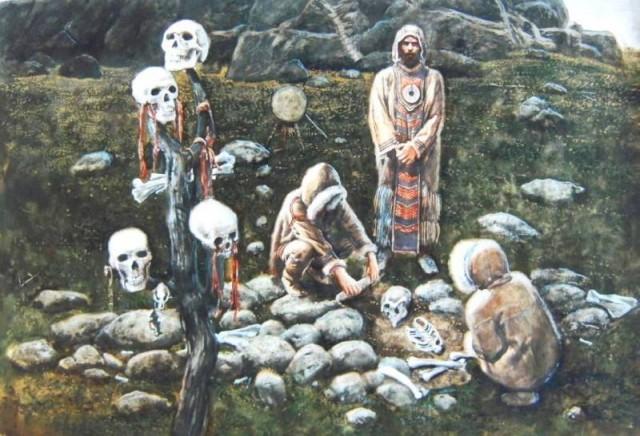 Pohřeb v pravěku
