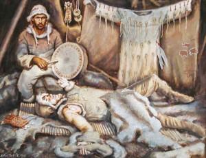 Pravěký šaman z Brna
