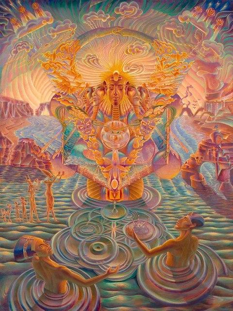 Umění inspirované stavěm změněného vědomí