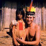 Mnislav Zelený mezi indiány v Amazaonii