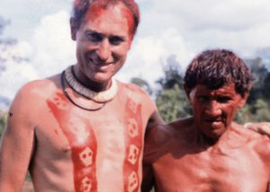 Mnislav Zelený mezi indiány v Amazonii